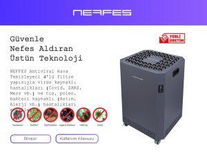 NEFFES Antiviral Hava Temizleyici